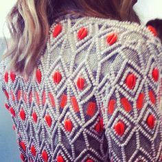 love this beaded jacket