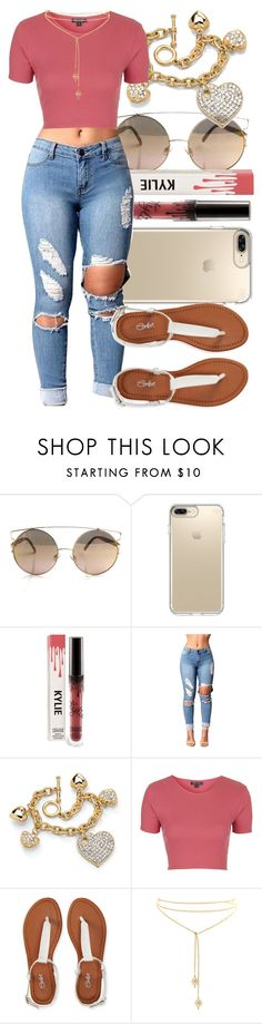 """Untitled #527"" by foreverkaylah ❤ liked on Polyvore featuring Speck, Palm Beach Jewelry, Topshop and Aéropostale"