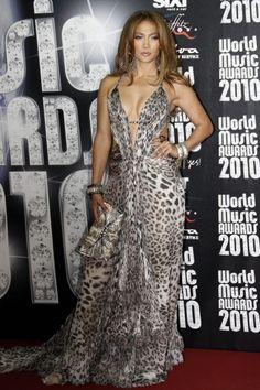 Celebrities attend the World Music Awards 2010