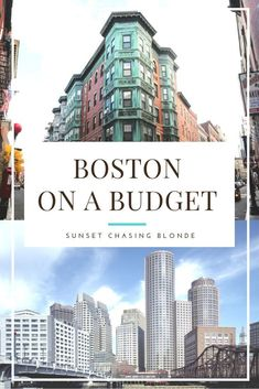 How to travel to Boston on a budget - Sunset Chasing Blonde - Want to travel to Boston but don't know if you can afford it? Check out this post on tips for vis - Us Travel Destinations, Best Places To Travel, Places To Go, Boston Vacation, Vacation Trips, Boston Travel Guide, New England Aquarium, Budget Planer, Viajes