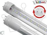 Λαμπτήρας LED T8 90cm 13 Watt Αλουμινίου με Καθαρό Κάλυμμα Ψυχρό Λευκό 1300 Lumen