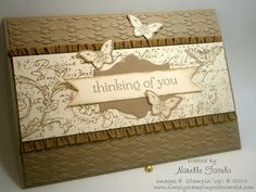 Papillion Potpourri | Stampin' Up! | Butterfly Card | Simply Stamping with Narelle