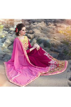 Indian Gorgeous Designer Party Wear Saree