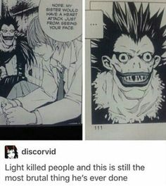 Light is fucking savage. XD