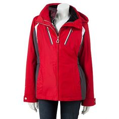 ZeroXposur Storm Shield Hooded Colorblock Jacket - Women's
