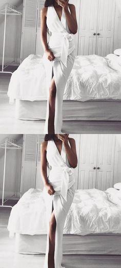 Prom Dresses,prom Dresses Long,prom Dresses White,prom Dresses Dresses Unique on Luulla Mint Bridesmaid Dresses, V Neck Prom Dresses, Prom Dresses 2018, Unique Prom Dresses, Prom Party Dresses, Vintage Dresses, Wedding Dresses, Simple Prom Dress, Dress Long