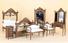 Bespaq Half Scale Jeanne Swag Bedroom Set