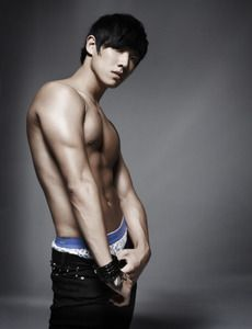 Joon Lee from MBLAQ again I found out about him from ninja assassin. His lips and abs pulled me right on in!