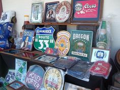 If you need a suggestion for a family outing, why not hit up a local flea market for an exciting day of bargain hunting? Traveling Gnome, New England Travel, Family Outing, Tin Signs, Fleas, Connecticut, Signage, Thrifting, Flea Markets