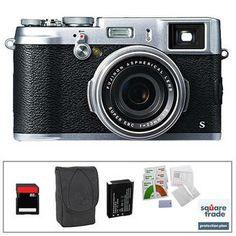 Fujifilm X100S Digital Camera Deluxe Kit B Photo Video