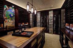 зона хранения вин