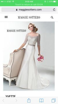letgo - Maggie Sottero wedding dress gown in Bellwood, IL