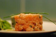 tartare saumon asiatique Ceviche, Carpaccio, Saveur, Macaroni And Cheese, Seafood, Appetizers, Fish, Ethnic Recipes, Health