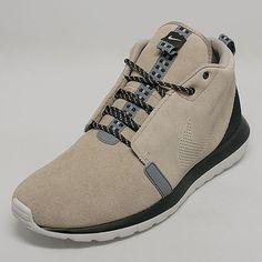 Nike Roshe Run NM Sneakerboot Color: Bamboo/Black-Cool Grey-Light Ash Grey