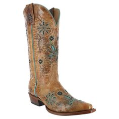 Omgoodness I Love theses in the brown and cream color!!! Shyanne® Women's Daisy Mae Western Boots
