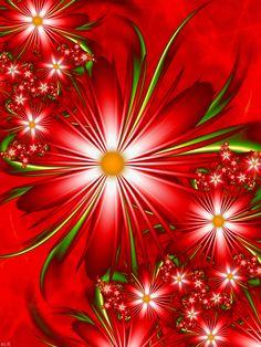 ♥Passion Red by LaraBLN♥ (fractal art)