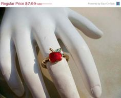 ON SALE 30 Off Vintage Avon Gold Apple by PaganCellarJewelry, $5.99
