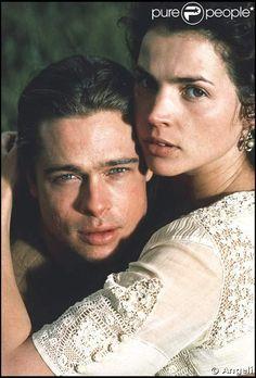 Julia Ormond et Brad PItt en 1994