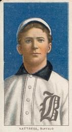 1909-11 The American Tobacco Company T206 White Border #NNO Billy Nattress Front