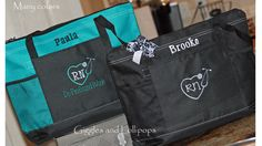 Personalized Nurse Tote Bag Personalized by GigglesandLollipops