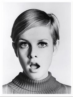 The ultimate 60s icon - Twiggy.