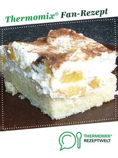 Fantaschnitte mit Pfirsichschmand von Teufelchen99. Ein Thermomix ® Rezept aus der Kategorie Backen süß auf www.rezeptwelt.de, der Thermomix ® Community.