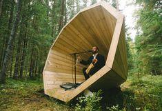 estonian-students-forest-megaphones-library-rooms-voru-county-designboom-12