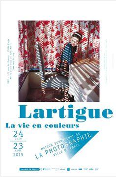Affiche exposition Lartigue