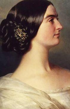 Charlotte Stuart, Viscountess Canning - Franz Xaver Winterhalter, 1849