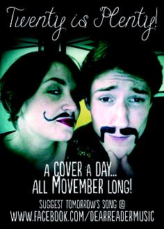 Join Dear Reader's Movember Cover Club!