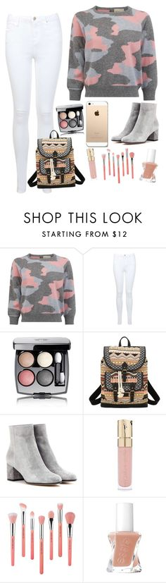 """""""Untitled #388"""" by treelights29 ❤ liked on Polyvore featuring Miss Selfridge, Chanel, Bandana, Gianvito Rossi, Smith & Cult and Bdellium Tools"""