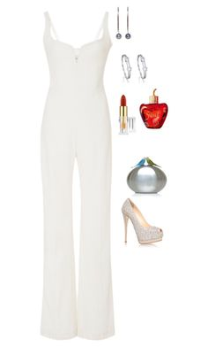 Untitled #2488 by janglin725 on Polyvore featuring polyvore fashion style Galvan Giuseppe Zanotti Sarah's Bag Boodles Yoko London MAC Cosmetics Lolita Lempicka clothing