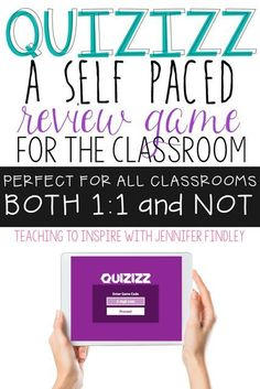 I love Quizizz and plan to use it and Kahoot many times in my classroom! A great tool for interactive immediate assessment. Quizizz is more self guided at your own pace than Kahoot. Teaching Technology, Educational Technology, Teaching Computers, Business Technology, Technology Lessons, Technology Tools, Technology Integration, Web 2.0, Instructional Technology