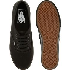 Vans Lo Pro Classic Black Lace Up Trainers ($67) ❤ liked on Polyvore featuring shoes, sneakers, vans, zapatos, black shoes, lace up sneakers, lacing sneakers, lace up shoes and black lace up shoes
