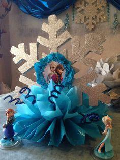 hola a todas, necesito ayuda con frozen Frozen Birthday Theme, Frozen Themed Birthday Party, 4th Birthday Parties, 2nd Birthday, Frozen Birthday Centerpieces, Frozen Party Decorations, Birthday Party Decorations, Frozen 1, Frozen Princess