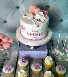 #happymothersday #teaparty #candybar #cupcakes #cookies #cakepops #macarons #cake Cakepops, Happy Mothers Day, Macarons, Tea Party, Birthday Cake, Cupcakes, Candy, Cookies, Desserts