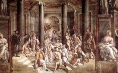 Sala di Costantino Battesimo di Costantino - R. Sanzio