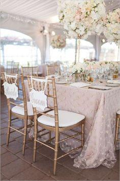 Pantone's 2016 Color: 19 Lovely Rose Quartz Wedding Ideas - Weddingomania