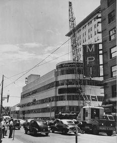 Gusman Theater sign, 1950's