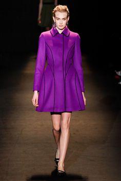 Alberta Ferretti Fall 2013 Ready-to-Wear Fashion Show - Dauphine McKee