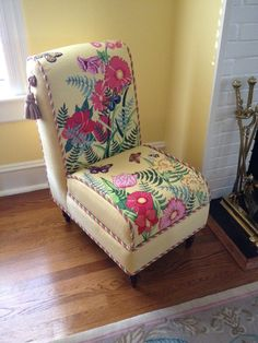 Beautiful needlepoint chair