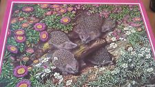 Grovely 1000 Piece Jigsaw Puzzle - The Hedgehog Family