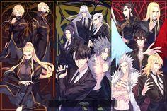 noblesse - Kertia & Rk & Lords Gamers Anime, Anime Guys, Manhwa, Anime Manga, Anime Art, Hot Anime Couples, Fantasy Heroes, Anime Character Drawing, Chibi Characters