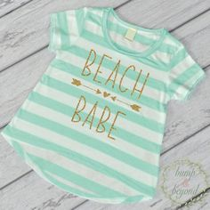 Kids Fashion Clothing for Girls- This adorable high-low short sleeve top makes a stylish outfit or photo prop! It features an all-over stripe print for a fun chic look. It's made of light weight jerse