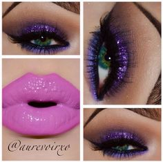 Eye Kandy's Sour Grape for this gorgeous look.