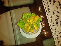Ceviche de Mango Guacamole, Grains, Rice, Mexican, Ethnic Recipes, Food, Meals, Yemek, Jim Rice