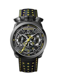 """Actualmente, la coleccion BOLT-68 incluye 25 modelos, disponibles bien como cronografo automatico (Concepto 99001), cronografo de cuarzo (Ronda 3540D) o cuarzo GMT de 3 agujas (Ronda 515.24D). Todos los modelos han sido fabricados en acero inoxidable de alta calidad, y estan disponibles en una amplia gama de colores. Dos cronografos automaticos de edicion limitada, """"SKULL"""" y """"FALCON"""", impregnan con un toque de distincion a toda la coleccion."""