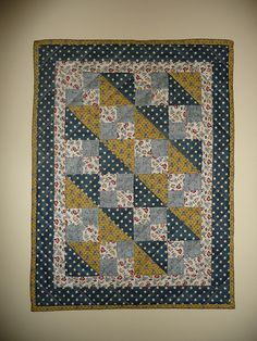 Doll-quilt, one more from Tempus fugit