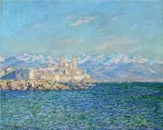 Antibes, Afternoon Effect - Claude Monet