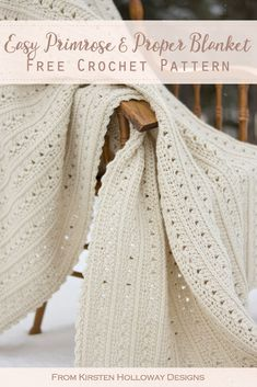An easy crochet blanket pattern for beginners! This beautiful free crochet proje… An easy crochet blanket pattern for beginners! This beautiful free crochet proje…,knitting An easy crochet blanket pattern for beginners! This beautiful free. Crochet Simple, Crochet Diy, Crochet Motifs, Manta Crochet, Afghan Crochet Patterns, Crochet Afghans, Crochet Throws, Crochet Ideas, Crochet Afghan Stitch